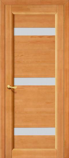 Межкомнатная дверь Вега 2, светлый орех