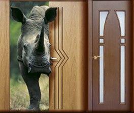металлические двери со шпоном дуба